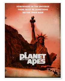 Premium poster  Planet of the Apes - 2ToastDesign