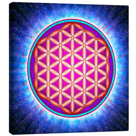 Canvas  Flower Of Life - Primal Energy - Dirk Czarnota
