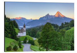 Michael Valjak - Maria Gern and Watzmann near Berchtesgaden in summer
