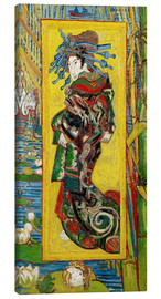 Canvas print  Japonaiserie: Courtesan or Oiran - Vincent van Gogh