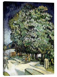 Canvas  Chestnut trees in Blossom - Vincent van Gogh