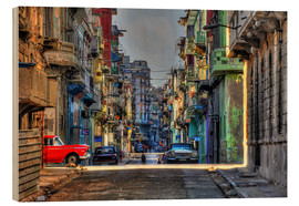 Wood  In the streets of Havana - HADYPHOTO by Hady Khandani