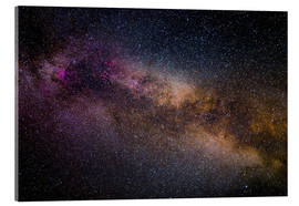 Acrylic glass  Milky Way - The starry sky - Benjamin Butschell