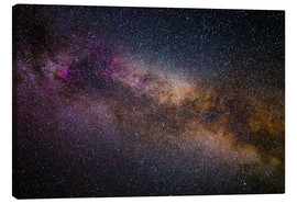 Canvas print  Milky Way - The starry sky - Benjamin Butschell