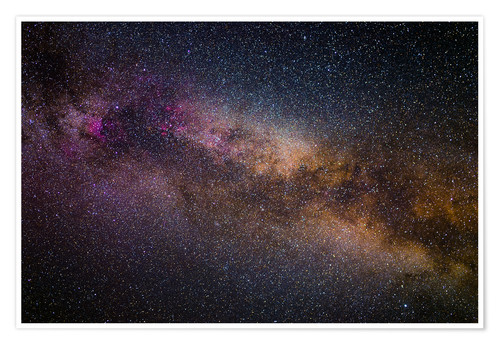 Premium poster Milky Way - The starry sky