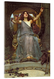 Acrylic print  Circe Offering the Cup to Ulysses - John William Waterhouse