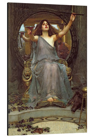 Aluminium print  Circe Offering the Cup to Ulysses - John William Waterhouse
