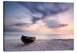 Canvas print  Lonely Boat #1 | Rügen | Germany - Kristian Goretzki