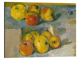 Paul Cézanne - Apples on a cloth