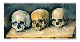 Premium poster The Three Skulls