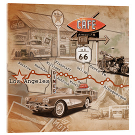 Acrylic print  Route 66 Road Trip - Georg Huber