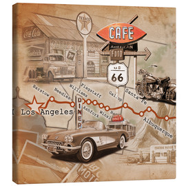Canvas print  Route 66 Road Trip - Georg Huber