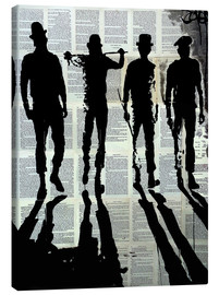 Canvas print  bit of the old ultra violence - Loui Jover