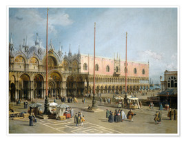 Premium poster The Square of Saint Mark's