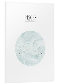 Foam board print  PISCES | FISH - Stephanie Wünsche