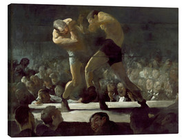 Canvas print  Club Night - George Wesley Bellows