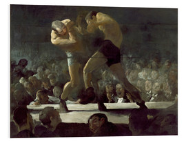 Foam board print  Club Night - George Wesley Bellows