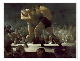 Poster  Club Night - George Wesley Bellows