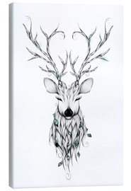 Canvas print  Peaceful deer - LouJah