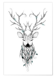 Premium poster Peaceful deer