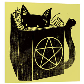 Foam board print  Witchcraft Cat - Tobe Fonseca