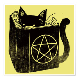 Poster  Witchcraft Cat - Tobe Fonseca
