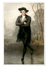 Premium poster  The Skater (Portrait of William Grant) - Gilbert Stuart