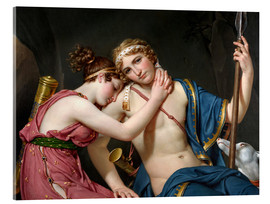 Acrylic glass  Farewell of Telemachus and Eucharis - Jacques-Louis David