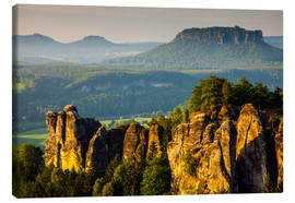 Canvas print  Saxon Switzerland - Bastei - Mikolaj Gospodarek