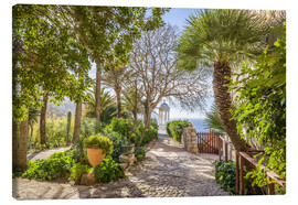 Canvas print  Idyllic garden of Son Marroig (Mallorca) - Christian Müringer