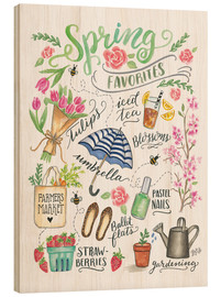 Wood  Spring Favourites - Lily & Val