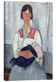 Canvas print  Woman with baby - Amedeo Modigliani