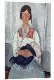 Forex  Woman with baby - Amedeo Modigliani