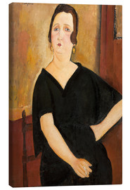 Canvas  Madame Amedee - Amedeo Modigliani