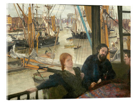 Acrylic print  Wapping - James Abbott McNeill Whistler