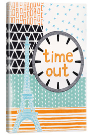 Canvas print  Time Out - Sybille Sterk