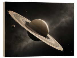 Johan Swanepoel - Planet Saturn with major moons