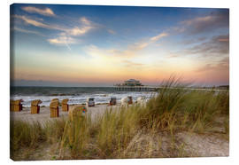 Canvas print  Timmendorfer beach on the Baltic coast - Filtergrafia