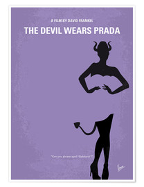 Premium poster My The Devil Wears Prada minimal movie poster