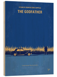 Wood print  The Godfather - chungkong