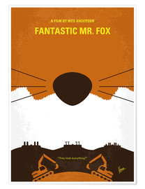 Premium poster Fantastic Mr. Fox