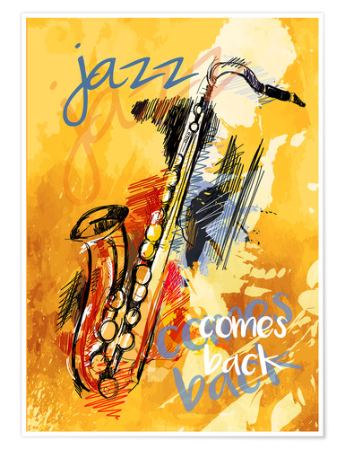 Premium poster Jazz comes back