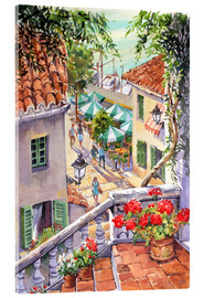 Acrylic glass  Harbour Steps - Paul Simmons