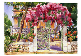 Foam board print  Bougainvillea Villa - Paul Simmons