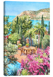 Canvas print  A Quiet Place to Sit - Paul Simmons