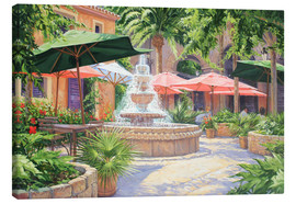 Canvas print  La Fuente - Paul Simmons
