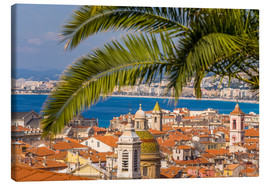 Canvas print  Old town of Nice - Dieterich Fotografie