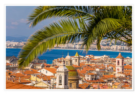 Premium poster  Old town of Nice - Dieterich Fotografie