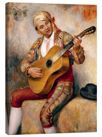 Canvas print  The Spanish Guitarist - Pierre-Auguste Renoir