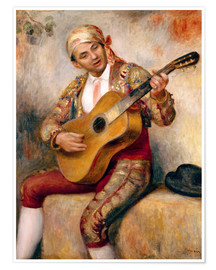 Premium poster The Spanish Guitarist